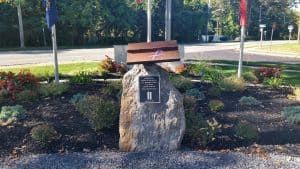 Custom Cast Bronze Memorial Plaque and Lawn Marker September 11